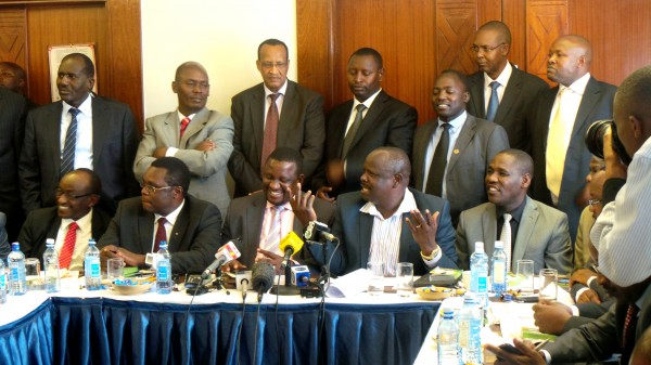 Council of Governors Press Conference meeting to elect the new Chairman.