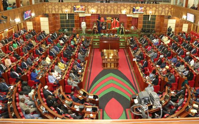 Kenyan Parliament Debating a Tax Bill